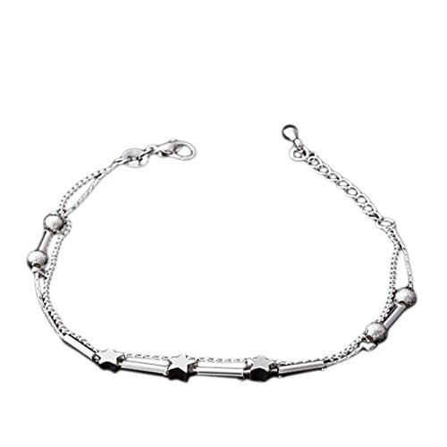 Meily® Little Star Women Chain Ankle Bracelet Barefoot Sandal Beach Foot Jewelry
