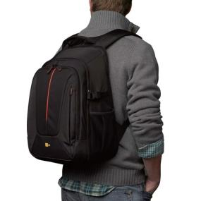 Case Logic DCB-309 SLR Camera Backpack in use
