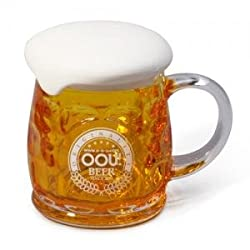 OOU! Cheers Beer Mug with Foam Fassbier