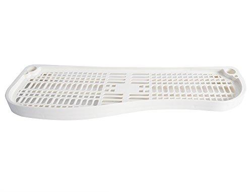 WOLTU BZ4110 Regalboden Ablage Regal Zubehör für Regal Waschmaschine Regal Aufbewahrungssystem, weiß