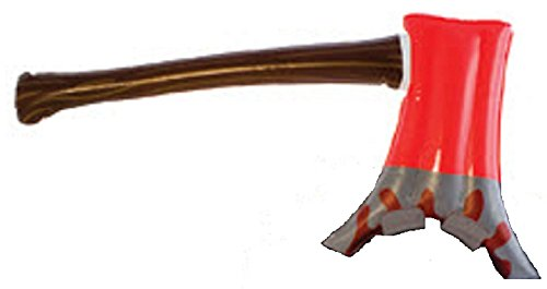 Inflatable Axe in the Head Toy Costume Piece