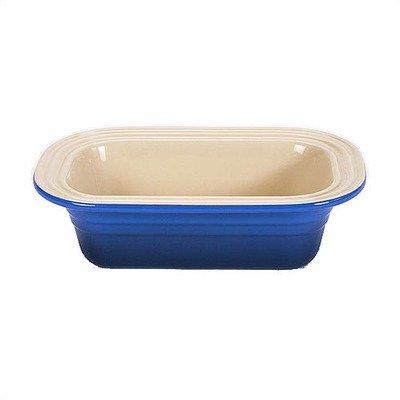 Le Creuset Stoneware 1-1/4-Quart Deep-Dish Loaf Pan, Cobalt
