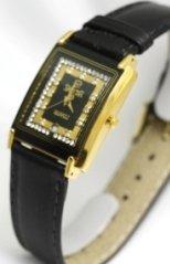Swistar Watches Swistar Sapphire Crystal 23 Gold Finish Men's Watch