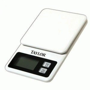 Scale Food Digital White 11lb (Pack of 4) by Taylor Precision Products