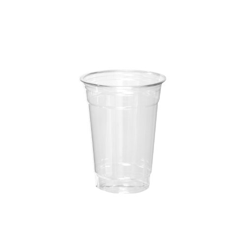 Party Essentials Soft Plastic 7-Ounce Party Cups, Clear, 40 Count