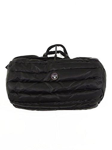 Napapijri Haskades borsone da viaggio imbottito a mano tracolla N0CFLL 041 black