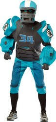 [Fox Sports Cleatus Deluxe Adult Costume PROD-ID : 1927774] (Cleatus Fox Sports Robot Adult Costumes)