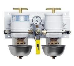 Racor 75500MAX2Max-Dual Fuel Filter/Water Separator