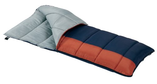 Wenzel Sunward 30 Degree Sleeping Bag Navy Orange