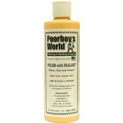 Poorboys Car Polish With Sealant & 2 Applicator Pads - From ROADUSER DIRECT