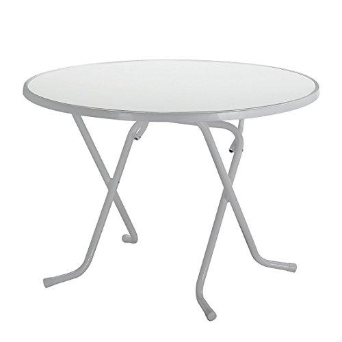 BEST-26528085-Schernklapptisch-Primo-rund-Durchmesser-80-cm-silber
