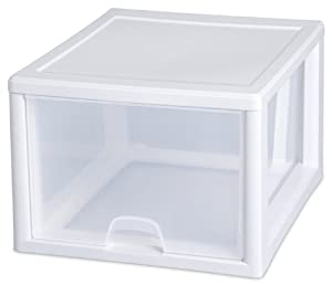 Sterilite 23108004  27-Quart #2310 Stacking 4pc Drawer, 4-Pack