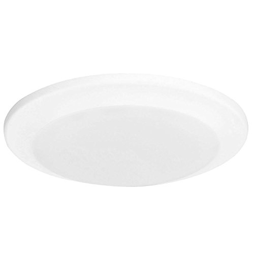 GetInLight 6 Inch LED Disk Light with Surface Mount or Recessed, Soft White 3000K, Matte White Finish, ETL Wet Location Listed, IN-0301-3-WH (Wet Location Ceiling Light compare prices)