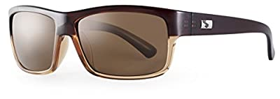 Sundog Connoisseur Frame with Polarized Lens, Brown Fade with Brown