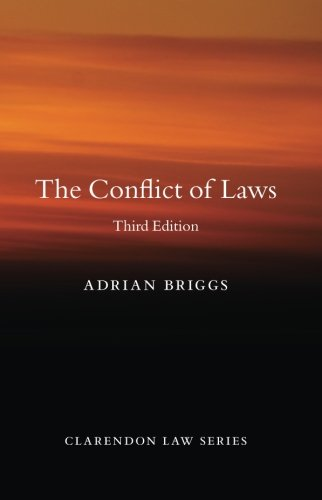 The Conflict of Laws (Clarendon, Law Series)