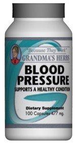 Blood Pressure - Herbal Remedy for High Blood Pressure - 100 Capsules