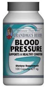 Blood Pressure - Herbal Remedy For High Blood Pressure - 100 Capsules