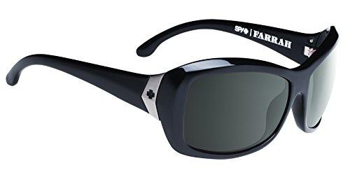 Image of Spy Optic Farrah Happy Lens Collection Polarized Sunglasses, 62 mm (Black)