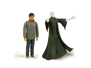 Harry Potter & Lord Voldemort - Harry Potter & The Deathly Hallows 5 Inch Action Figure Twin Pack