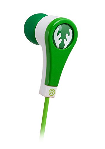 Ifrogz If-Ane-Der Animatones Volume Limiting Ear Buds For Kids, Green