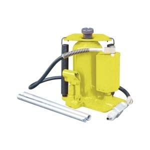 Esco (ESC10446) Yellow Jackit 20 Ton Air/Hydraulic Bottle Jack manual hydraulic 10 ton separate hydraulic jack 10t sheet metal hydraulic separation of the top vehicle maintenance tools