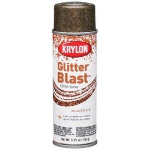 Krylon K03803 Glitter Blast, Bronze Blaze