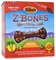 Zuke's Z-Bones Natural Edible Clean Carrot Crunch