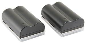 STK's Canon BP-511 Battery - TWO PACK 2200 mAh BP-511A BP511 BP511A Lithium Ion Battery Pack for Canon EOS 5D, 50D, 40D, 20D, 30D, 10D, Digital Rebel, 1D, D60, 300D, D30, Kiss, Powershot G5, Pro 1, G2, G3, G6, G1, Pro90 is, Optura 20, Xi, 10, PI, 200MC, 100MC