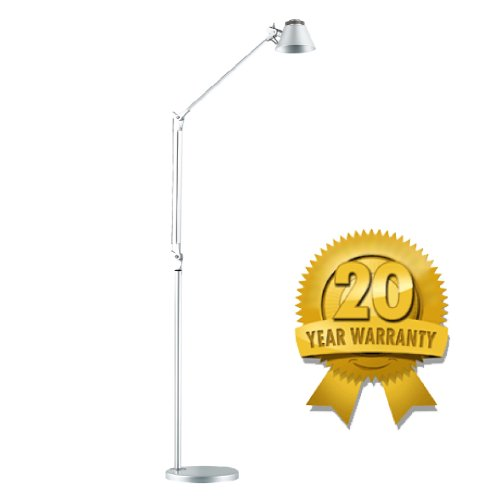 Brightech Contour LED Floor Lamp - Latest LED Technology - Cool to the Touch - Saves Energy