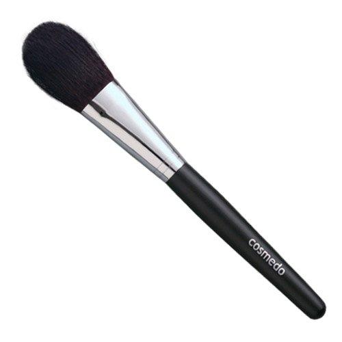 匠の化粧筆コスメ堂 熊野筆メイクブラシ レギュラータイプ灰リス・馬毛混チークブラシ