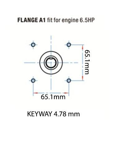 "Triplex High Pressure Power Washer Pump 3.1 GPM 3000 psi 6.5 HP 3/4"" Shaft fits Cat General AR"