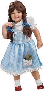 Wizard Of Oz Dorothy Child Costume Size 2T-4T Toddler