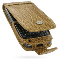 PDair F41 Brown Crocodile Leather Case for Nokia E71