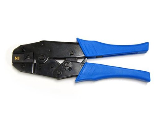 Rachet Type Crimping Tool for Large OD CAT6-A UTP-STP Solid or Stranded Cable 8P8C- RJ45 TL1-4591