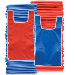 Adult Pinnies 72 Pack Blue Red (PAC) by SSG