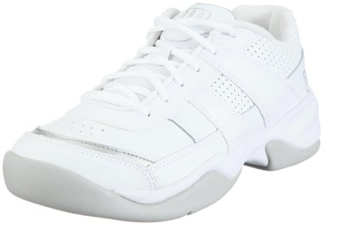 Wilson Pro Staff Court Women Tennis Shoes, Color- White/Silver, Size- 6.5 UK
