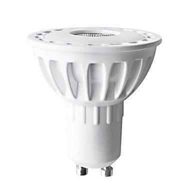 Rayshop - H+Luxtm Led Gu10 Cob 6W Warm White 2700K 280Lm Cri >80 Aluminium Spot Light Ac220-240V