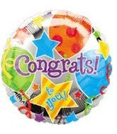 "32"" Large Congrats Jubilee Balloon - 1"