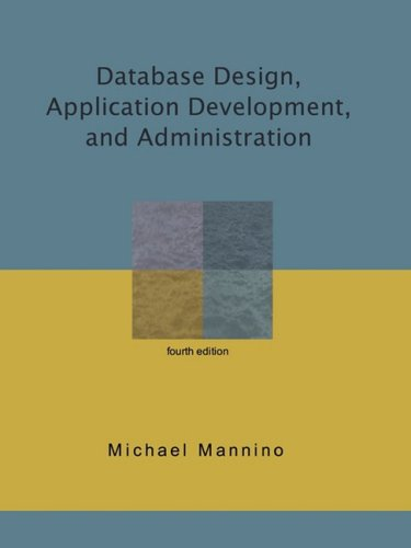 Database Design, Application Development, and...