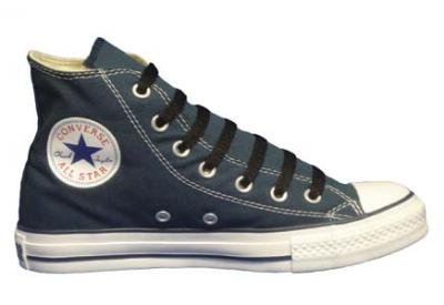 Converse Chuck Taylor All Star Hi Top Navy Canvas Shoes