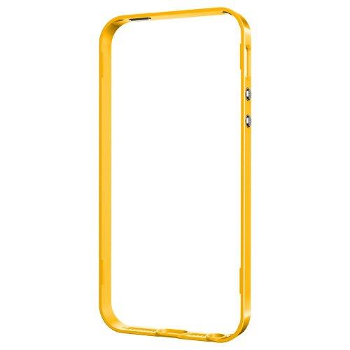 国内正規品 Spigen iPhone 5s / 5 ケース ネオ・ハイブリッド 専用 フレームパーツ (レベントン・イエローSGP10594)