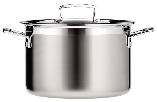 Le Creuset Tri-Ply Stainless Steel 6-1/4-Quart Covered Casserole/Stockpot (Kitchen)
