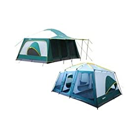 Giga Tent FT052 Giga Tent Carter MT 8-12 Sleepers 20x10ft. Family Dome Tent