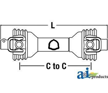Maletti, Bondioli & Pavesi Rotor Tiller Rotary Cutter Economy Driveline Part No: A-CS64414, CS5133, PM14006652, 14006652, W14006652DS, 971-14006652