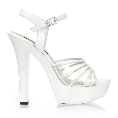 white platform, ceremony shoes