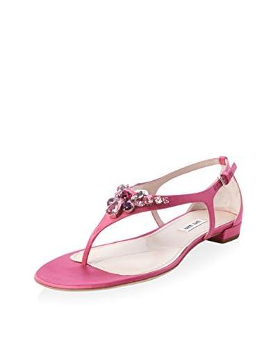Miu Miu Women's Jewel Studded Sandal