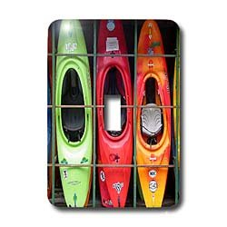Water Sport - Kayak - Light Switch Covers - single toggle switch