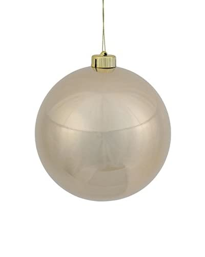 Winward Set of 2 Ball Ornaments, Platinum/Gold