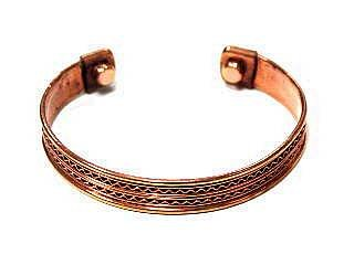 Powerful Magnetic Copper Cuff Bracelet for Arthritis and Golf Sport Aches and Pains
