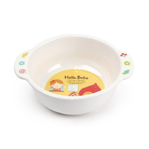 Lock&Lock Hello Bebe Storytelling Educational Design Baby Feeding Bowl with Handle (Discontinued by Manufacturer)